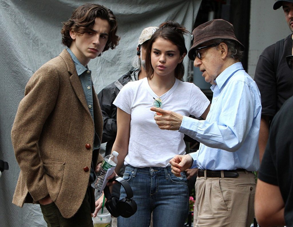 Timothée Chalamet A Rainy Day in New York Woody Allen