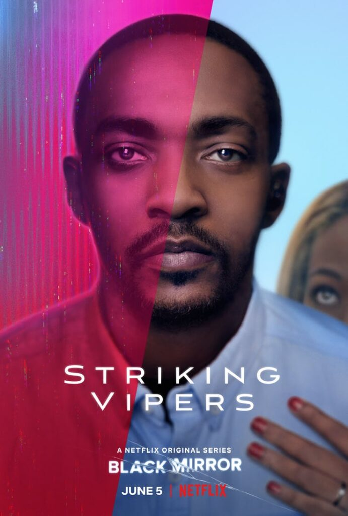 Anthony Mackie Black Mirror 5 Striking Vipers Poster