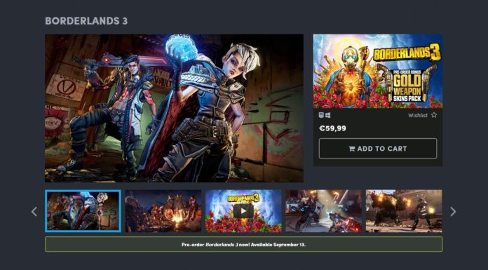 Borderlands 3 Humble Bundle Store