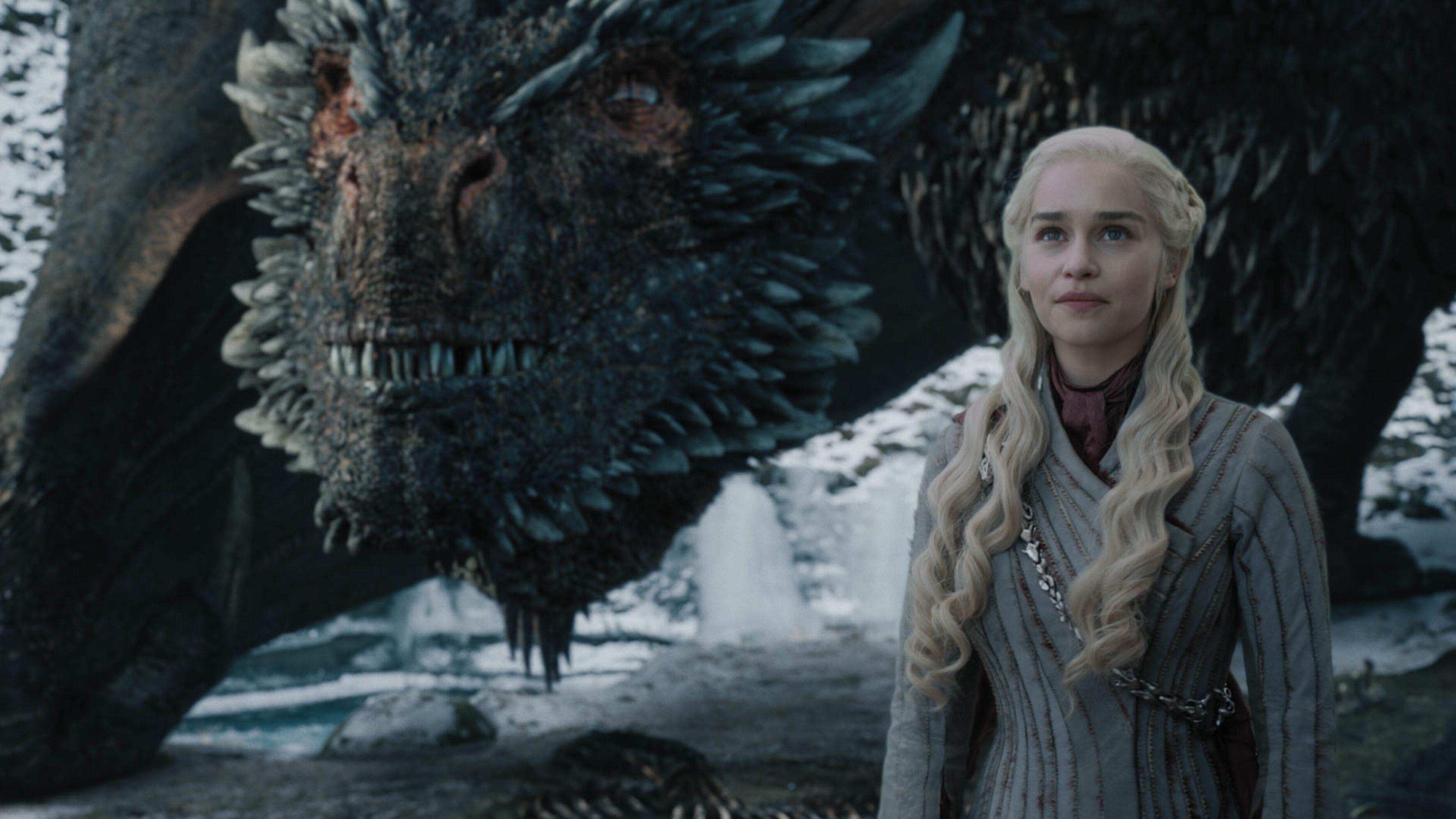 Daenerys e Drogon