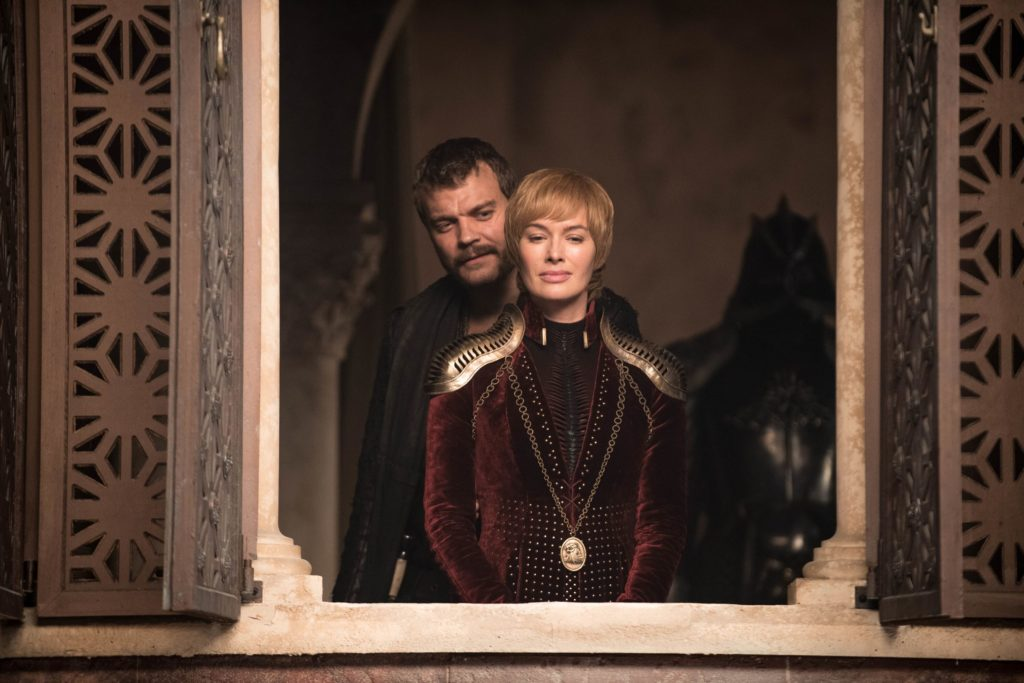 Game of Thrones 8x04 - Euron e Cersei (Credits: HBO)