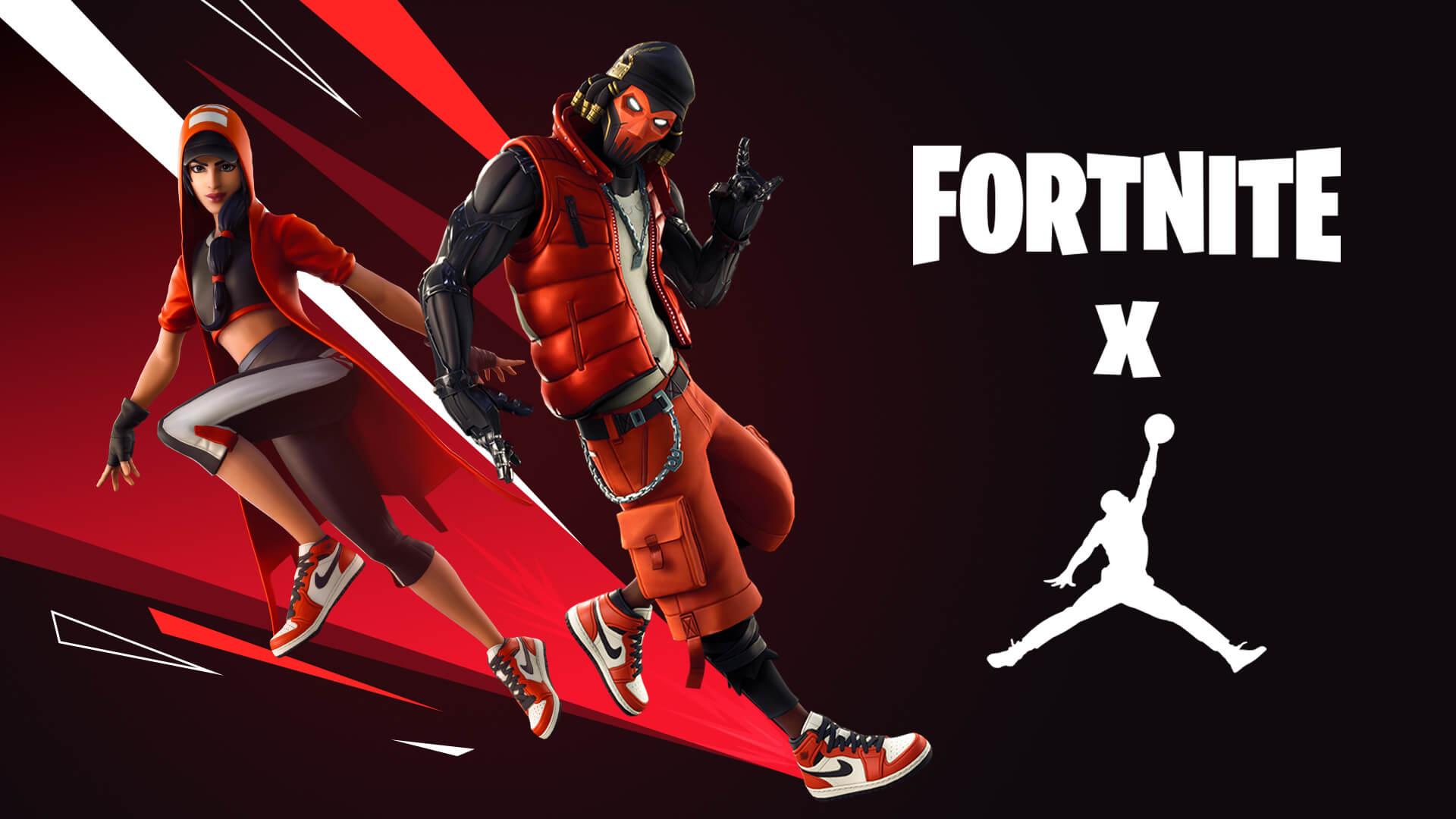 Fortnite x Jordan