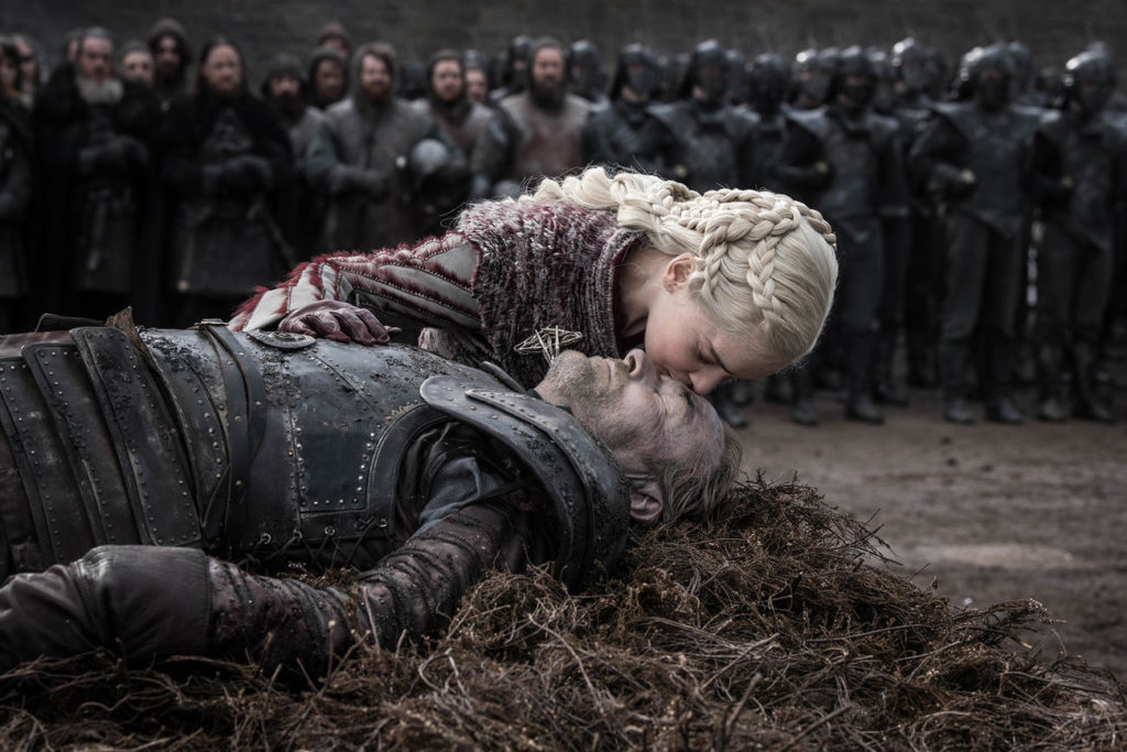 GoT Daenerys sussurro Jorah Iain Glen