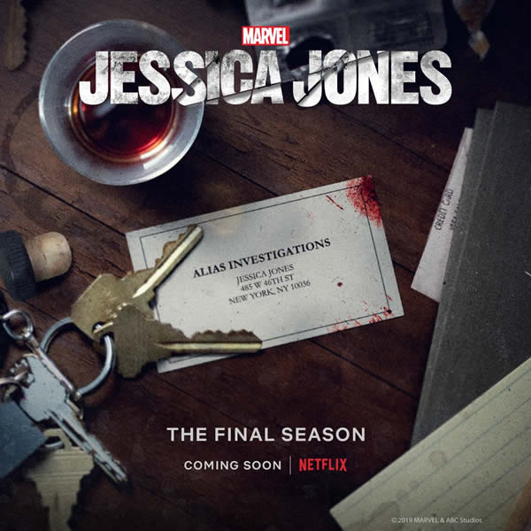 terza stagione di Jessica Jones netflix