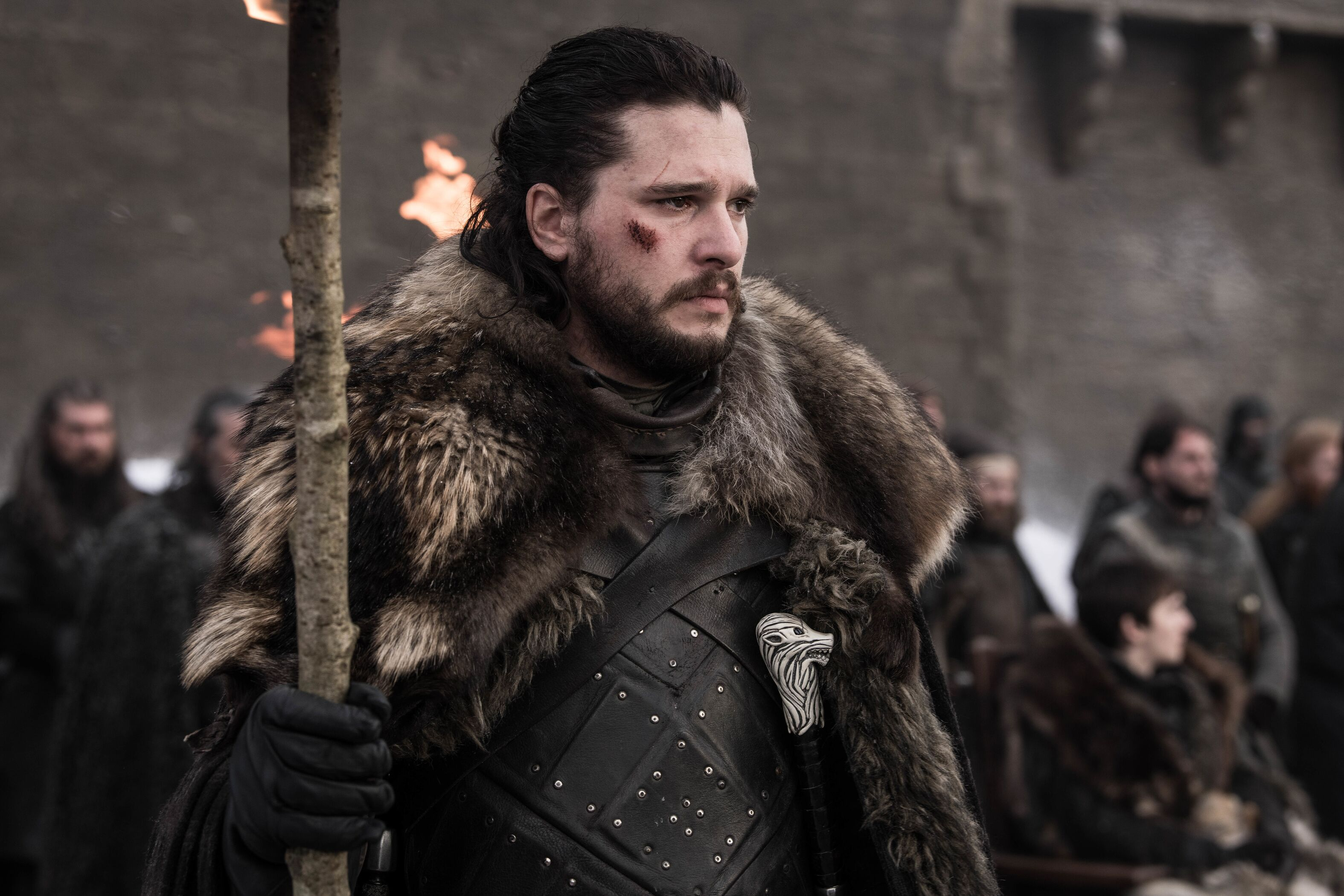 Jon Snow - Game of Thrones 8x04
