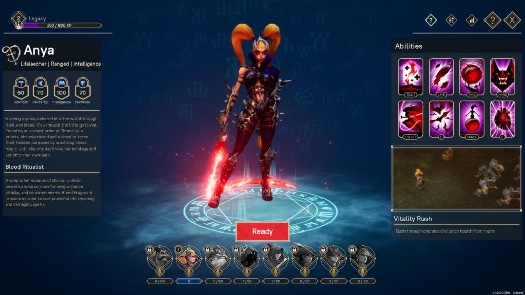 Pagan Online Wargaming Character