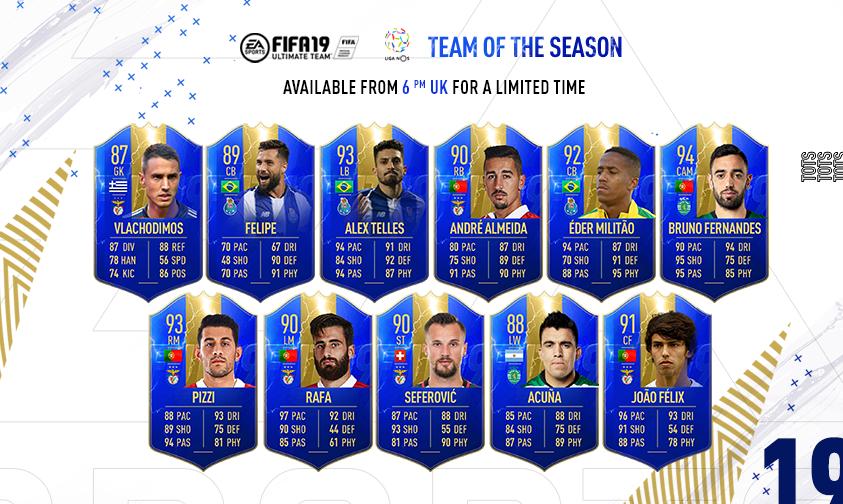 TOTS Liga NOS FIFA Ultimate Team FIFA 19