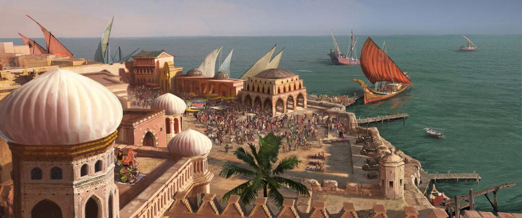 Mercato di Agrabah - Aladdin - Gemma Jackson