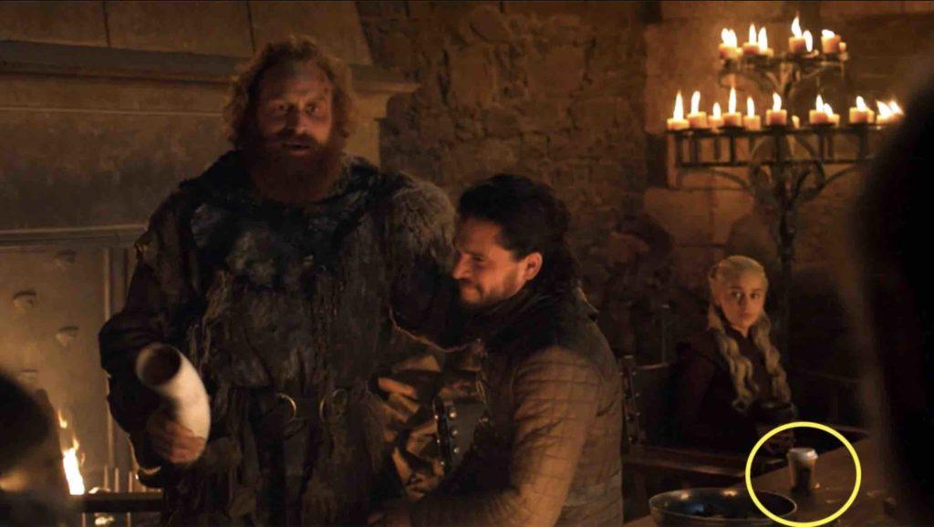 Game of Thrones: Starbucks errore