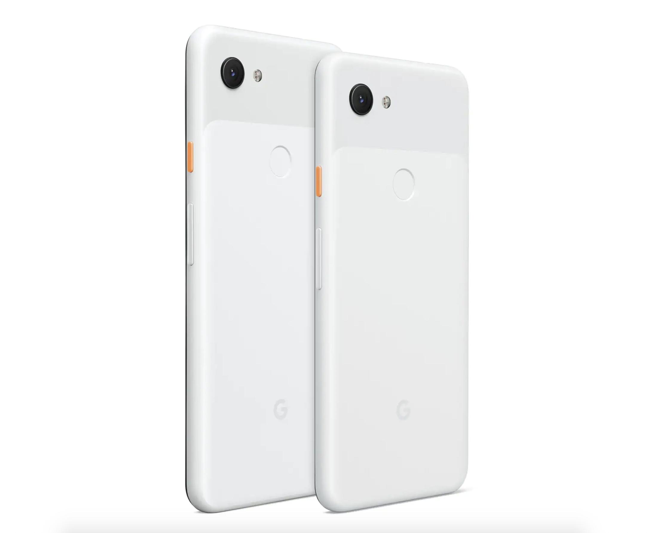 Google Pixel 3a e Google Pixel 3a XL Bianco
