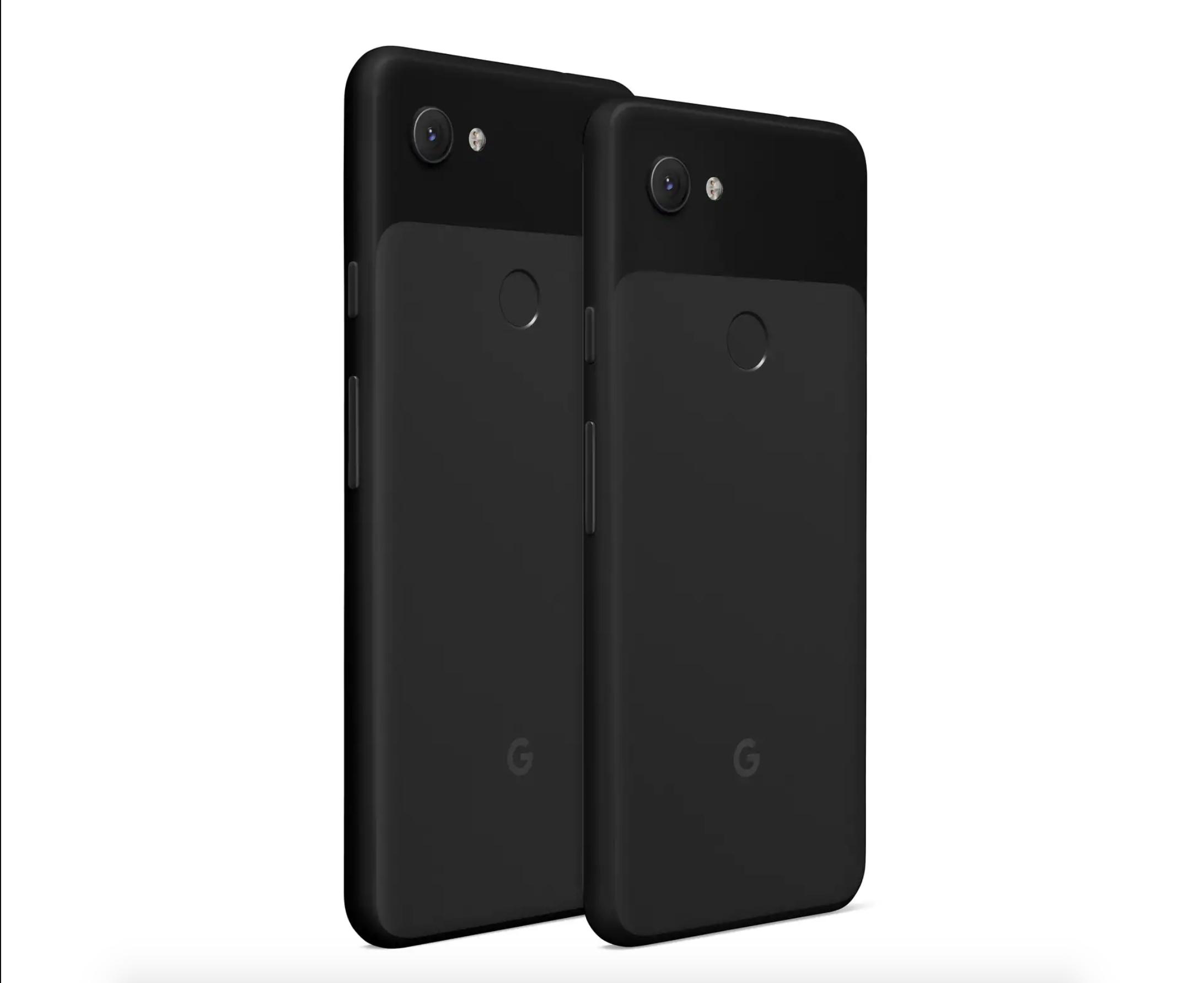 Google Pixel 3a e Google Pixel 3a XL nero