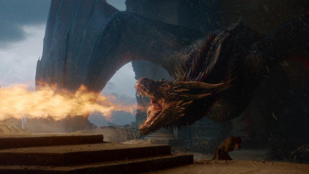 Game of Thrones La rabbia di Drogon il Drago di Daenerys