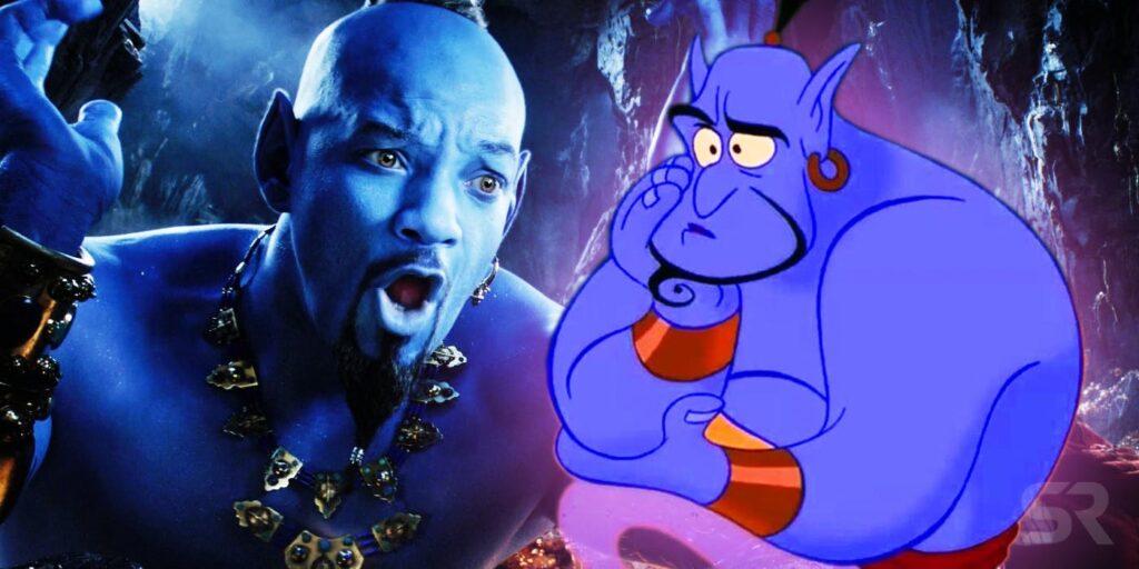 Aladdin - live-action disney. Will Smith e Robin Williams
