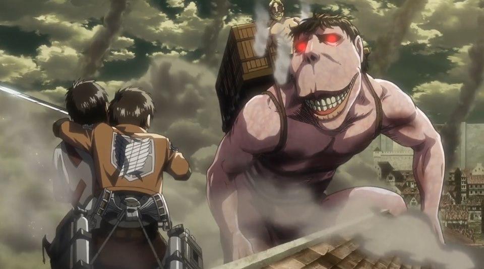l'attacco dei giganti armin erwin levi