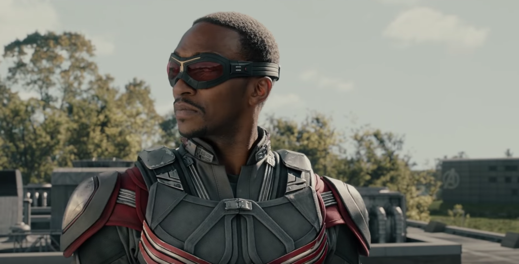 Anthony Mackie Captain America Universo Cinematografico Marvel, Chris Evans.