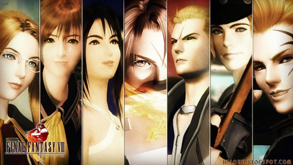 Final Fantasy VIII Remastered Square Enix E3 2019