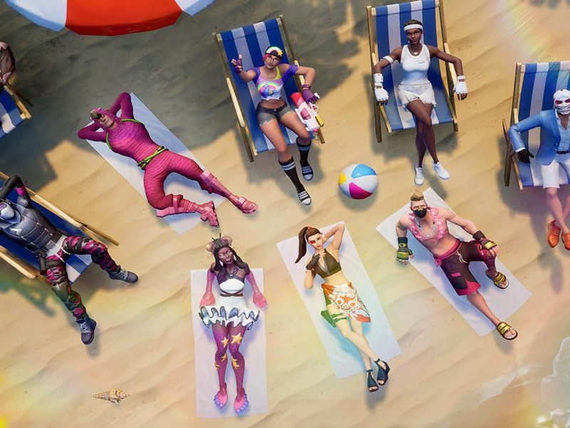 Fortnite Epic Games 14 Days of Summer  Evento Luogo Beach Party