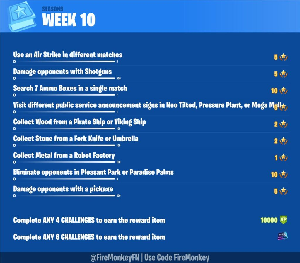 Fortnite Patch 9.30 Epic Games