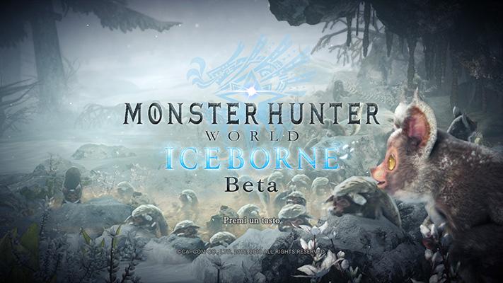 Iceborne beta screen