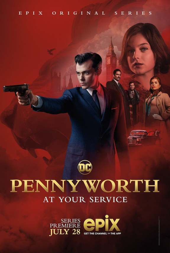 trailer pennyworth epix poster dc comics batman