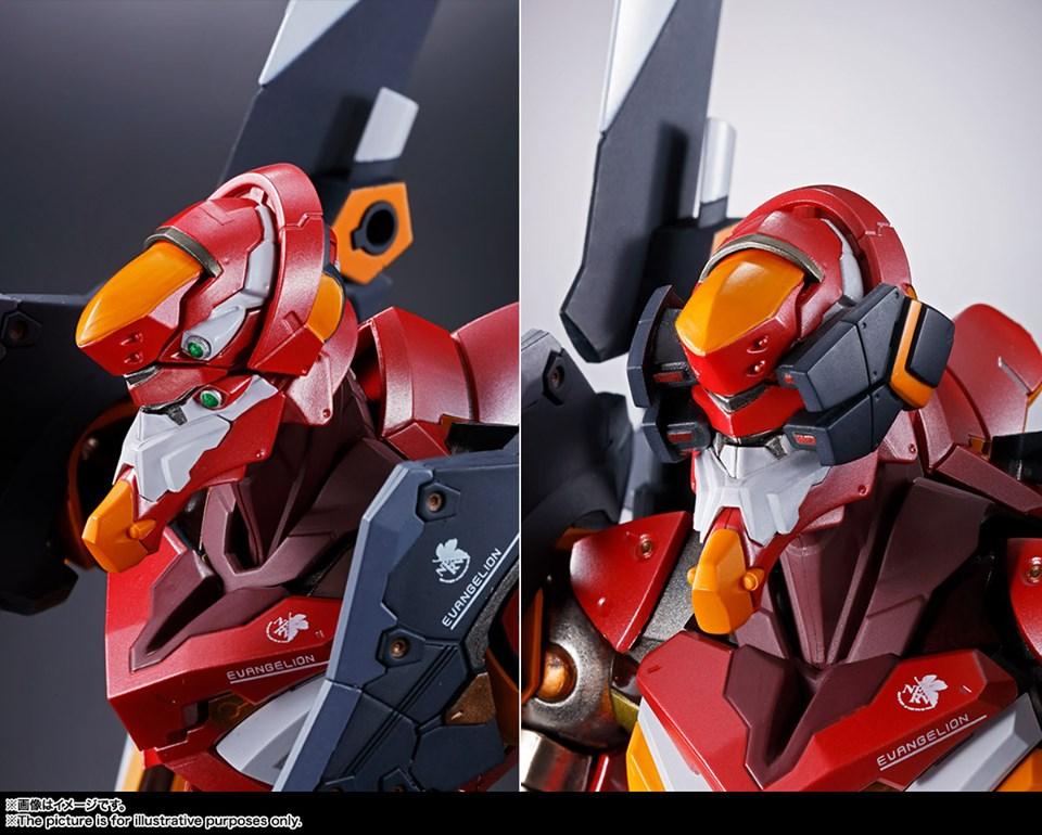 Evangelion 02 Production Model Metal Build