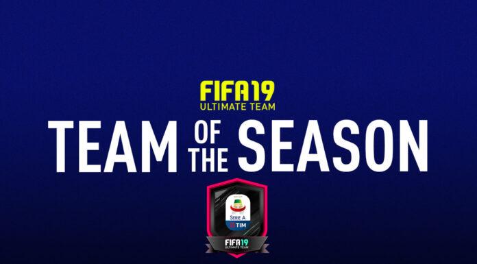 TOTS FIFA 19 Ultimate Team Serie A TIM