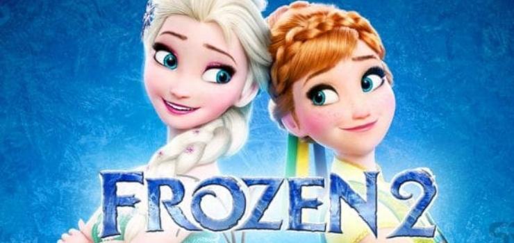 Frozen 2 - poster del film Disney