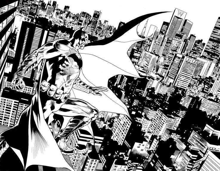 I creatori di Authority Warren Ellis e Bryan Hitch si riuniscono per la maxi-serie DC Comics di 12 numeri intitolata The Batman's Grave.