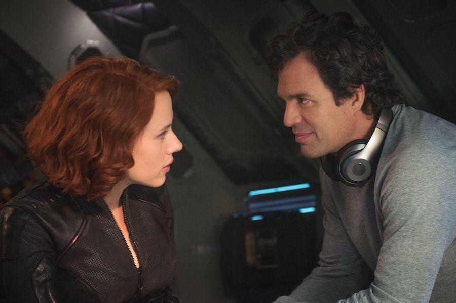 Bruce e Natasha, Hulk e Vedova Nera, Avengers