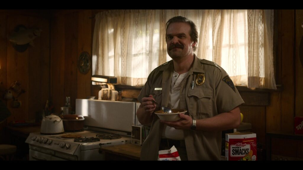 Stranger Things: Jim Hopper David Harbour)