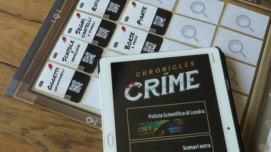 Chronicles of Crime app