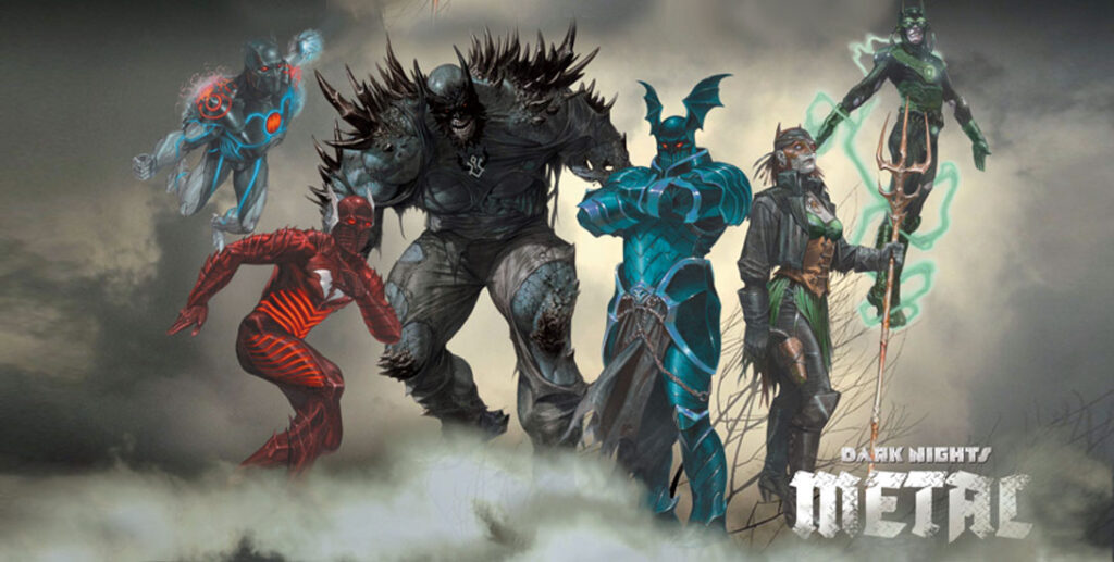 Dark nights metal DC comics Greg Capullo Scott Snyder
