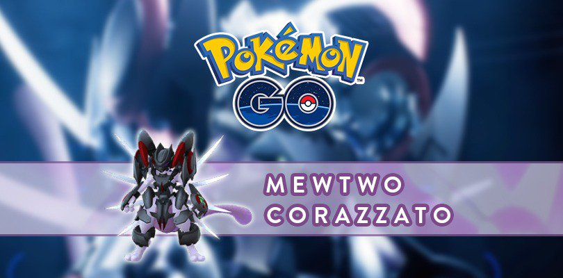 Pokémon GO Armored Mewtwo  Pokémon the Movie: Mewtwo Strikes Back EVOLUTION