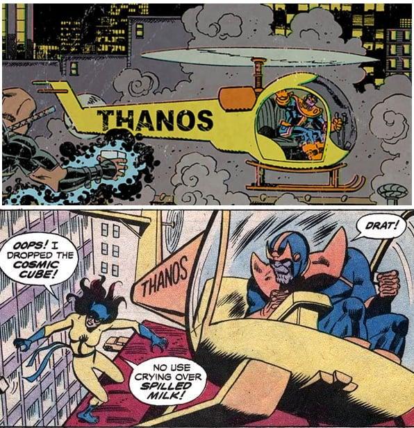 Thanos, Jim Starlin Avengers Endgame