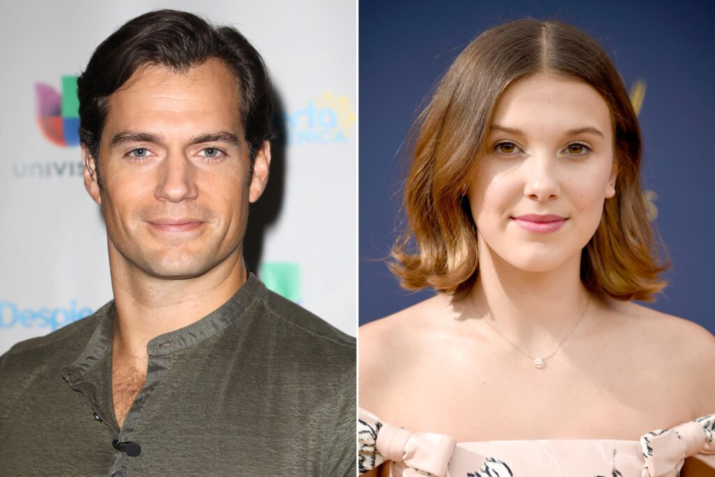 Henry Cavill e Millie Bobby Brown