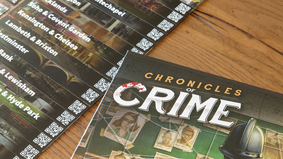Chronicles of Crime, dettaglio regolamento e quartieri di Londra