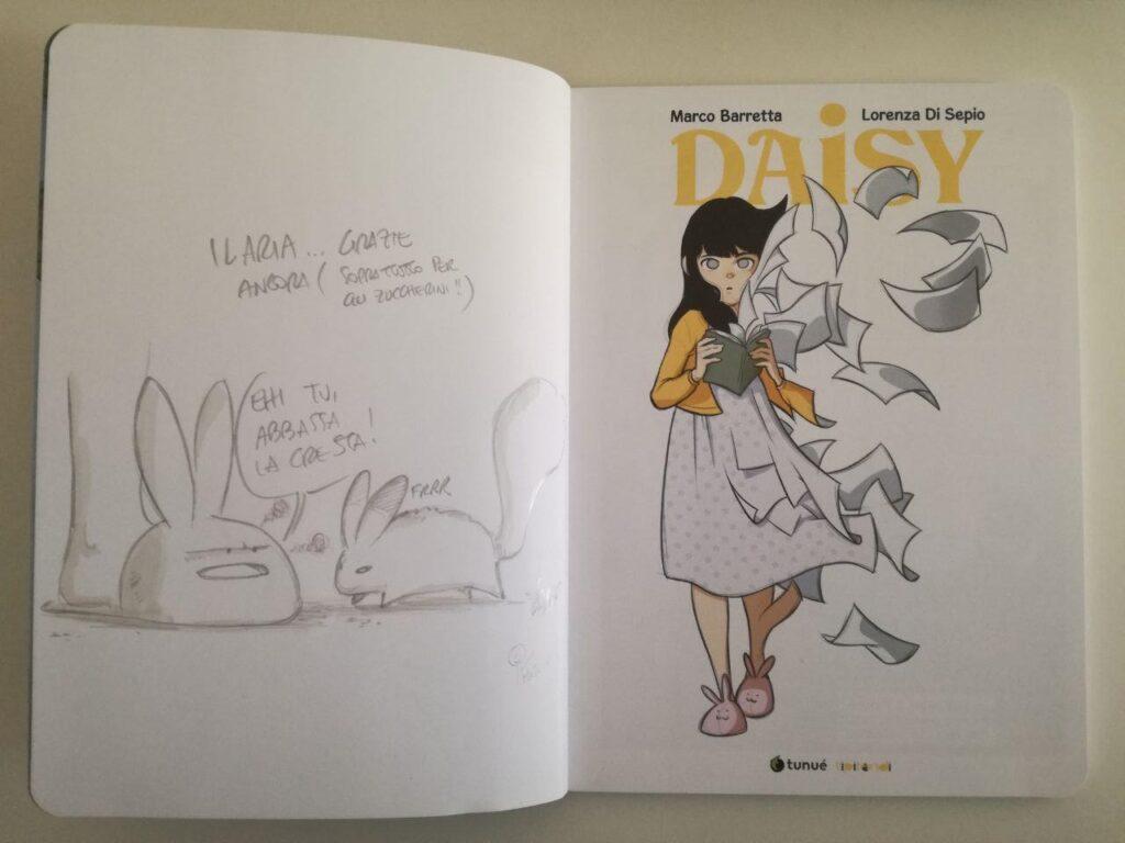 daisy fumetto di sepio recensione