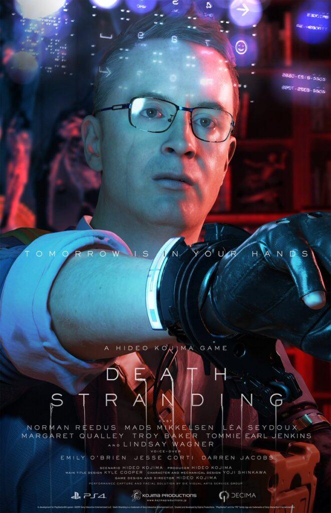 Death Stranding DLC Heartman Nicolas Winding Refn