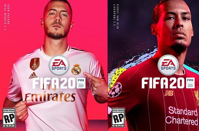 FIFA 20 Cover ufficiali