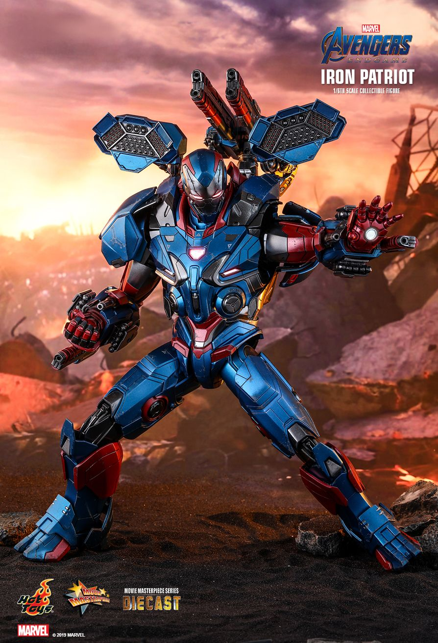 avengers endgame iron patriot