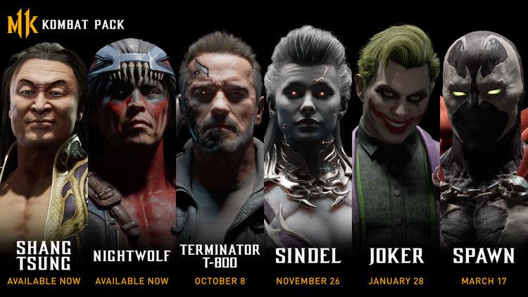 Mortal Kombat 11 DLC Pack 1