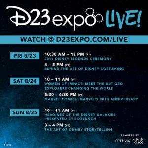 disney+ disney d23 expo star wars pixar