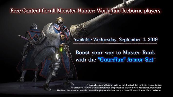 Monster Hunter World: Iceborne Guardian Armor