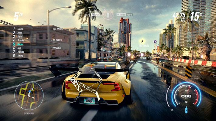 Need for Speed Heat Gara