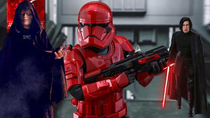 Sith Troopers, Kylo Ren, Palpatine