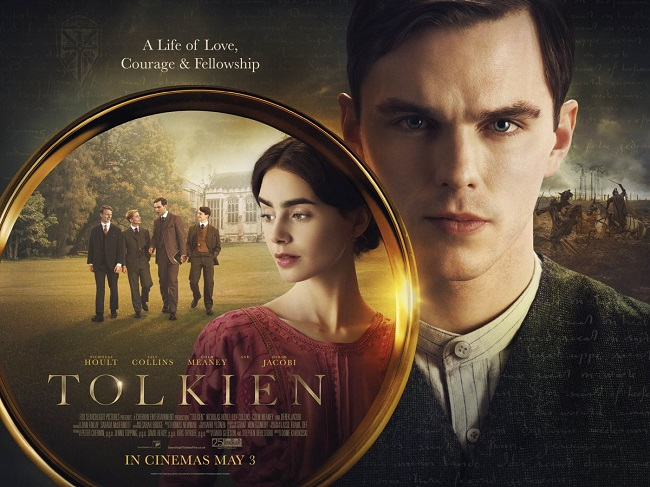 """Tolkien. anticipata la data di uscita, il biopic sulla vita dello scrittore de """"il signore degli anelli"""" con Nicholas Hoult, arriverà nelle sale il 12 Settembre"""