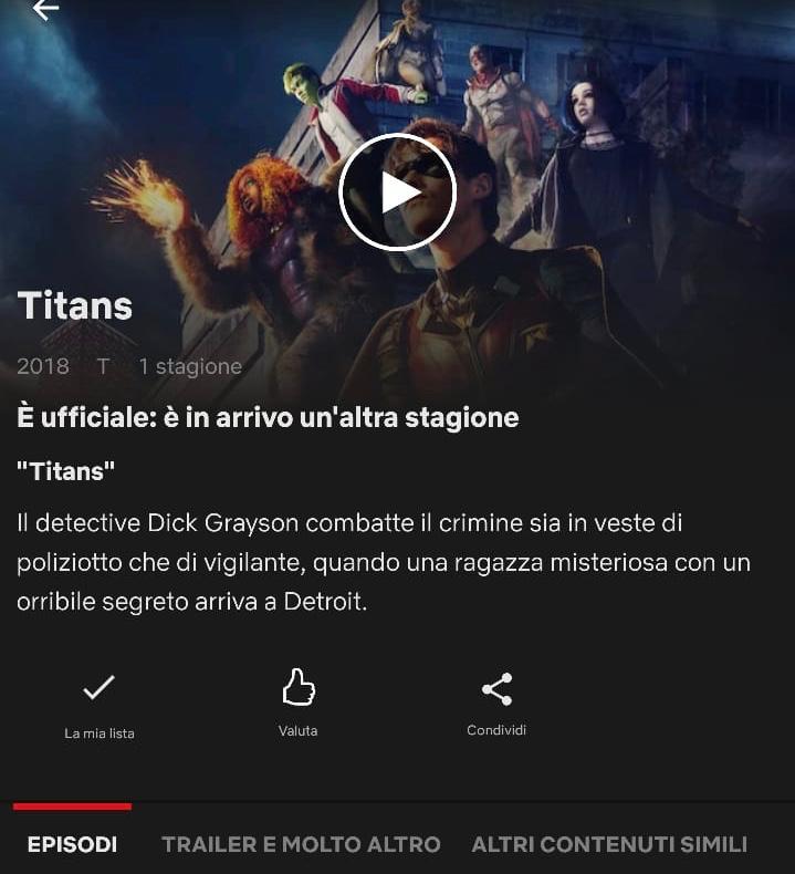titans netflix dc universe