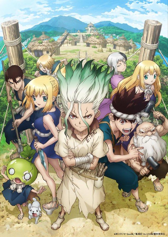 dr stone villaggio arc anime