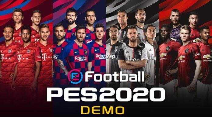 eFootball PES 2020 Demo Konami