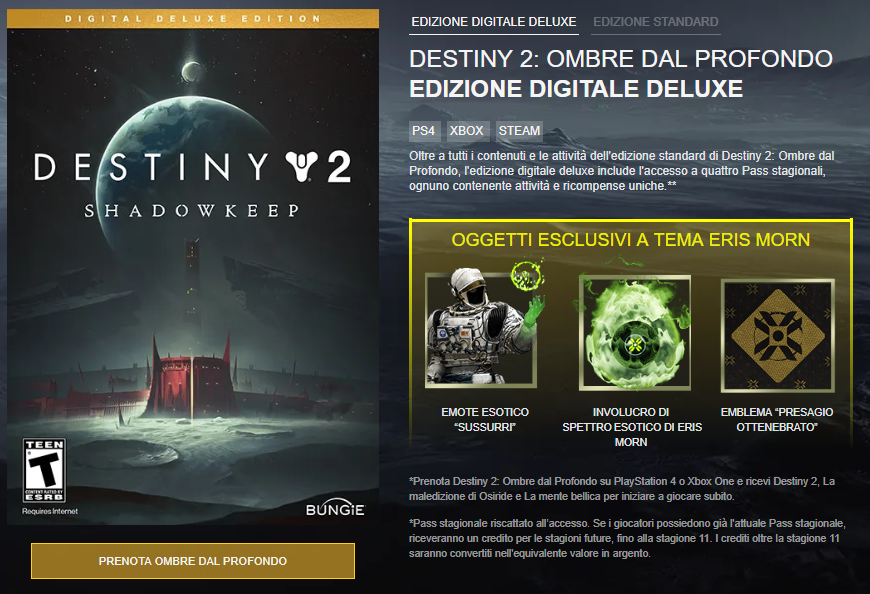 Destiny 2 Gamescom 2019